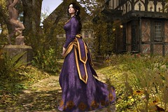 Afternoon Stroll (LiangScorpio) Tags: sl secondlife goatswood genus silvanmoondesigns gown truth