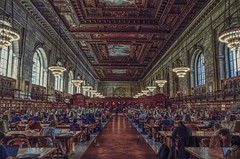 Sssh! (Paul B0udreau) Tags: newyorkcity nyc usa nikkor1855mm photoshop canada ontario paulboudreauphotography niagara d5100 nikon nikond5100 layer people midtownmanhattan interior new york public library newyorkpubliclibrary