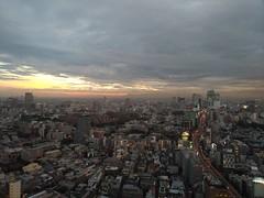 日没前 (before sunset) (Paul_ (shin.ogata)) Tags: 六本木 roppongi 森タワー mori tower sunset 日没 h1