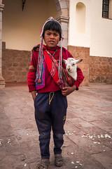 People of Peru - Pisac Boy and Llama (davidswinney) Tags: roadscholar people sacredvalley peru southamerica inca pisac llama písac cuscoregión