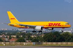 DHL (European Air Transport) (ab-planepictures) Tags: bru ebbr flugzeug flughafen airport aircraft aviation plane planspotting brüssel