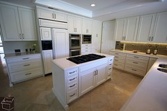 Traditional kitchen Remodel with custom White Cabinets, farmhouse double mount sink in Coto De caza https://www.aplushomeimprovements.com/portfolio_page/coto-de-caza-design-build-white-kitchen-remodel-with-aplus-custom-cabinets110/ (Aplus Interior Design & Remodeling) Tags: whitecabinets white kitchenisland kitchenremodel kitchen kitchenrenovation kitchencabinets kitchenandbath tile transitionalstyle transitionaldesign travertine remodel residentialdesign remodeling renovation residence residential room reface rainglass