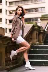 Elli at Town Hall (Manny Esguerra) Tags: elliesmaeili portrait naturallight people fashion outdoors beauty sydney city photoshoot model