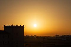 Salida del sol sobre Alboraya vista desde Valencia 01 (dorieo21) Tags: sunrise amanecer aurore sol soleil sun alboraya valencia