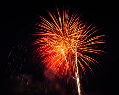 Celebrate! (sniggie) Tags: louisvillebats milb minorleaguebaseball sluggerfield celebrate celebration fireworks