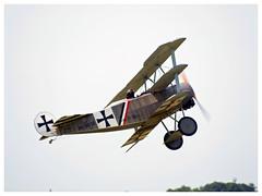Fokker DR.1 | Pterodactyl Flight | OK-TAV58 (Aerofossile2012) Tags: meaux esbly airshow meeting 1418 ww1 wwi grandeguerre 2018 reenactors reconstituants fokker dr1 pterodactylflight oktav58