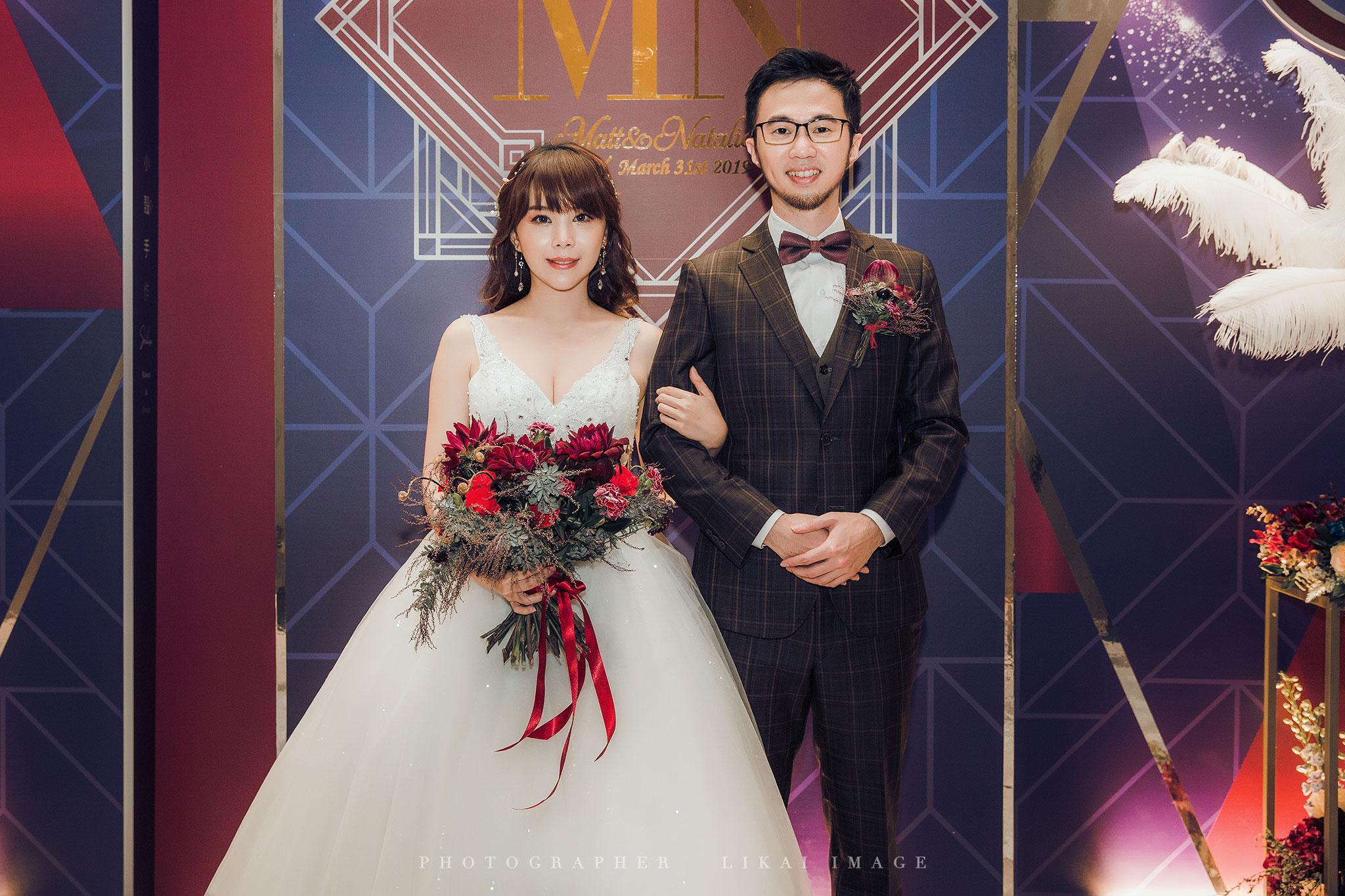 婚禮紀錄 - Natalie & Matt - 格萊天漾大飯店