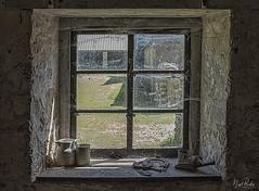 TYNEHAM VILLAGE 7 (Nigel Bewley) Tags: tyneham tynehamvillage dorset england uk purbeck ghostvillage lostvillage abandoned derelict nigelbewley photologo appicoftheweek june june2019 barn farm farmyard agriculture thomashardy window