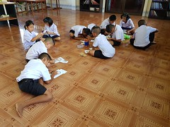 English teaching in Nong Khwai 2019-6-28  1 (SierraSunrise) Tags: thailand english esarn faorai isaan nongkhai nongkhwai school teaching youth