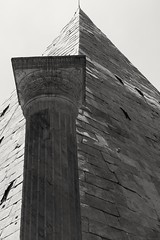 Piramide (Il Condor) Tags: piramide anticaroma rome egitto egypt old ancient antico rovine ruins blackandwhite blackwhite