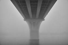 Bridge in the fog (Staropramen1969) Tags: bridge fog river morning brückennebel fluss morgen pont brouillard rivière matin