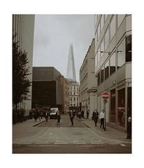 No Entrance (Thomas Listl) Tags: thomaslistl color london uk greatbritain england 35mm theshard urban street cityoflondon sepia sign people business architecture ngc