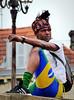 Jeune homme brésilien sur un pont de Bayonne... Reynald ARTAUD (Reynald ARTAUD) Tags: 2019 juin pays basque pont bayonne jeune homme brésilien reynald artaud