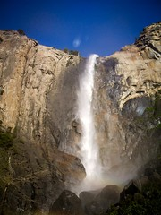 Roaring Falls (World-viewer) Tags: breathtaking view landscape nature grand yosemite landmark natural wonder travel explore ngc national geographic fuji park waterfall spray cliff beautiful amazing