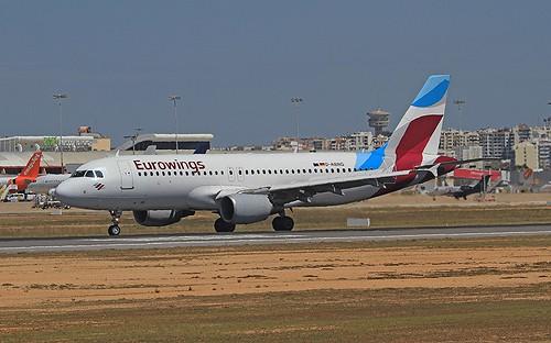 D-ABHG A320 Eurowings Faro 13-04-19