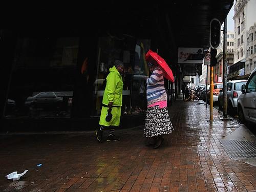 Rain. Johannesburg, South Africa