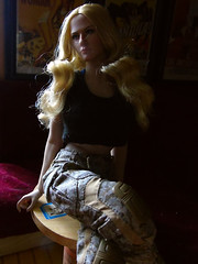 Jade Shadows (Blondeactionman) Tags: phicen photography pub playscale diorama doll ammoarms bamhq onesixth onesixthscale agentofbam