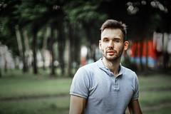Nikita #2 (Unicorn.mod) Tags: 2019 colors portrait summer june man male youngman outdoor park canon canoneosr canonef50mmf12lusm