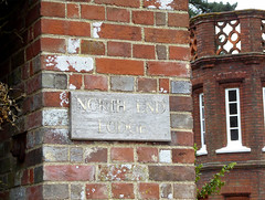 North End Lodge, Audley Park, Essex, UK (mira66) Tags: lodge chimney audleyend littlebury essex estate england park