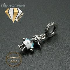 Charms petit garçon en argent 925 (olivier_victoria) Tags: argent 925 blanc rose bleu charms charm charme petite garçon casquette
