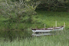 28061905 Roundwood (Philip D Ryan) Tags: ireland cowicklow roundwood lushgrowth trees countryside boat water