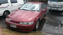 1995 Ford Falcon (EF) Futura Sedan (ans.yu460) Tags: 1995 ford falcon ef futura sedan nmd733