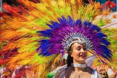 Parade Colours (A Great Capture) Tags: portrait pride woman feathers colourful parade agreatcapture agc wwwagreatcapturecom adjm ash2276 ashleylduffus ald mobilejay jamesmitchell toronto on ontario canada canadian photographer northamerica torontoexplore summer summertime été sommer 2019 lgbt lgbtq loveislove love gaypride lovewins lgbtpride event costume headdress rainbow featherheaddress brazil brazilian southamerican