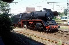41 1185  Lage  10.08.97 (w. + h. brutzer) Tags: lage eisenbahn eisenbahnen train traims deutschland germany dampfloks steam railway lokomotive locomotive zug dr db 41 dampflok webru analog nikon