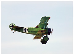 Fokker Dr.I Dreidecker - 01-CP/F-AZVD (Aerofossile2012) Tags: meaux esbly centenaire 2018 meeting airshow fokker dri dreidecker fazvd