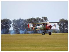 Nieuport 28 - 100 - LX-NIE (Aerofossile2012) Tags: meaux esbly centenaire 2018 meeting airshow nieuport28 lxnie ww1 1418 wwi