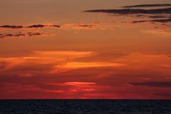 IMG_5612-1 (Andre56154) Tags: albanien albania himmel sky wolke cloud sonnenuntergang sunset sonne sun meer ozean ocean wasser water strand beach küste abendrot afterglow