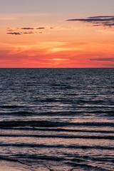 IMG_5610-1 (Andre56154) Tags: albanien albania himmel sky wolke cloud sonnenuntergang sunset sonne sun meer ozean ocean wasser water strand beach küste abendrot afterglow