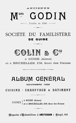 Godin (Colin & Cie.) 1898 (growlerthecat) Tags: tradecatalogue catalogue castiron cookingrange kitchen heating stoves godin guise colin