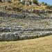 Ancient theater of Chaeronea, Boeotia, Greece