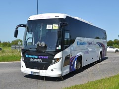 Airport Transfer Cars YN66 WRW (tubemad) Tags: yn66wrw scania higer touring k360eb4 airport transfer cars 247 coach hire