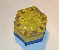 HONEYCOMB TESS BOX (mganans) Tags: origami tessellation box