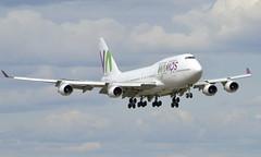 Wamos  EC-KXN, OSL ENGM Gardermoen (Inger Bjørndal Foss) Tags: eckxn wamos boeing 747 osl engm gardermoen