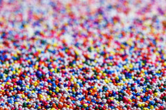 Nonpareils (or hundreds and thousands) (WilliamND4) Tags: nonpareils colorful sugar decorations tiny tokina100mmf28atxprod nikon d810 macro