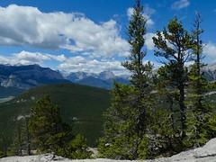 Doorjamb Mountain Spring Scramble - Vistas to the west (benlarhome) Tags: doorjambmountain doorjamb exshaw kananaskis alberta canada hike hiking scramble trek trekking path trail rockies rockymountain rocheuse