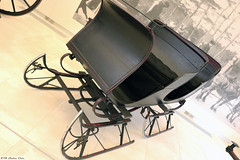 The French Carriage Co., Boston. Four-passenger sled (Can Pac Swire) Tags: thefrick frick pittsburgh pa pennsylvania usa us unitedstates america american museum 2016aimg3918 horse drawn carriage horsedrawn antique sled sledge sleigh bobsled
