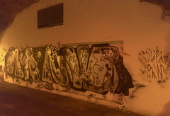 HUR and RW (svennevenn) Tags: gatekunst streetart bergen hur rw bergengraffiti graffiti