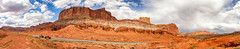 Capitol Reef National Park (KPortin) Tags: capitolreefnationalpark landscape highway cliffs sandstone panorama
