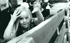Fence, Canon City, Colorado (2019) (.boose.) Tags: street girls kids children streetphotography blackandwhitephotography canoncity sigmadp0