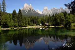 Lago Welsperg - Italy (Biagio ( Ricordi )) Tags: lago welsperg valvanoi fieradiprimiero tonadico trentino lake montagna riflessi paledisanmartino