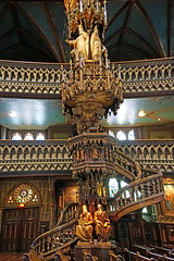 DSC00122 - Pulpit (archer10 (Dennis)) Tags: montreal chinatown sony a6300 ilce6300 18200mm 1650mm mirrorless free freepicture archer10 dennis jarvis dennisgjarvis dennisjarvis iamcanadian canada oldmontreal oldportmontreal notredamebasilica quebec notradamecathedral