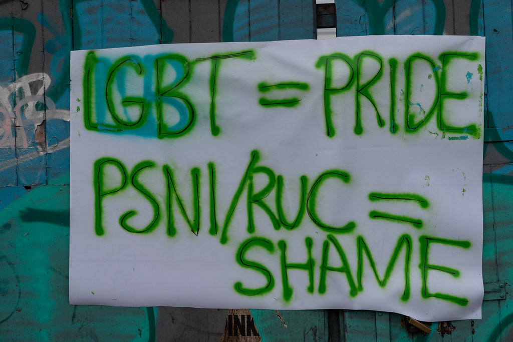 DUBLIN PRIDE PARADE [ DRAW YOUR OWN CONCLUSIONS]-153523