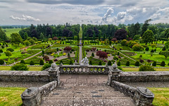 Drummond Castle Gardens (Margaret S.S) Tags: crieff perthshire drummond castle gardens scotland gothic art style