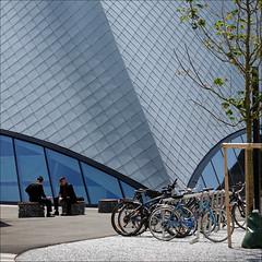 A Modern Museum (pixel_unikat) Tags: architecture modern new krems loweraustria bikes nölandesgalerie stategalleryofloweraustria