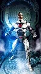 DC Universe REBIRTH CYBORG (custombase) Tags: dc universe rebirth figures cyborg victor stone lab diorama toyphotography