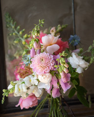 Summer wedding bouquet (photoart33) Tags: flowers summer bouquet wedding foxglove dahlia rose snapdragon nigella
